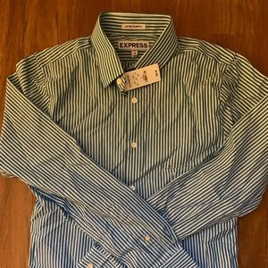 Mens Express Button Down